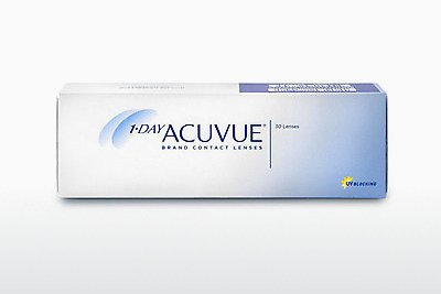 Lentilles de contact Johnson & Johnson 1 DAY ACUVUE 1D2-30P-REV