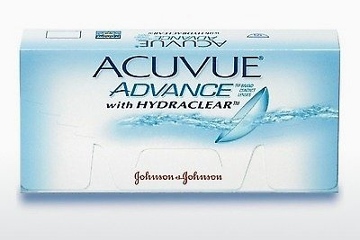 Lentilles de contact Johnson & Johnson ACUVUE ADVANCE with HYDRACLEAR AVG-6P-REV