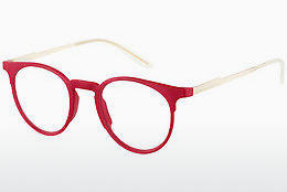 Lunettes design Carrera CA6665 R4U - Rouges, Or