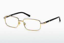 Lunettes design Mont Blanc MB0475 028 - Or