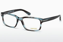 Lunettes design Tom Ford FT5313 086 - Bleues, Azurblue