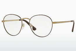 Lunettes design Vogue VO4024 5021 - Brunes, Or