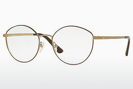 Lunettes design Vogue VO4025 5021 - Brunes, Or