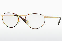 Lunettes design Vogue VO4084 5078 - Or, Brunes, Havanna