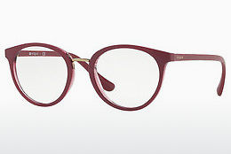 Lunettes design Vogue VO5167 2555 - Rouges, Transparentes
