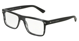 Dolce & Gabbana DG3227 2947 MATTE STRIPED ANTHRACITE