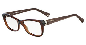 Emporio Armani EA3023 5198 TRANSPAREN BROWN