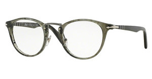 Persol PO3107V 1020 STRIPED GREY