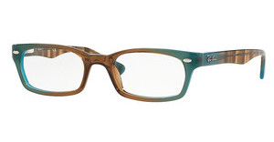 Ray-Ban RX5150 5490 GRADIENT BROWN ON AZURE