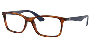 Ray-Ban RX7047 5574 MATTE LIGHT HAVANA