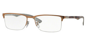 Ray-Ban RX8413 2690 MATTE LIGHT BROWN