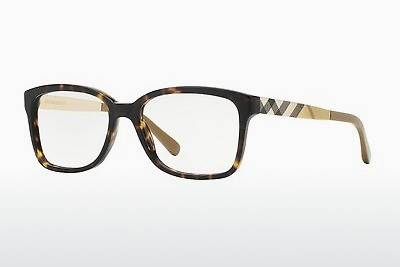 Lunettes design Burberry BE2143 3002 - Brunes, Havanna