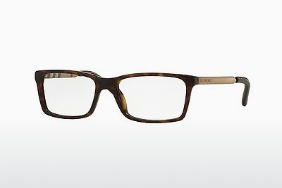 Lunettes design Burberry BE2159Q 3002 - Brunes, Havanna