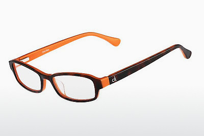 Lunettes design Calvin Klein CK5865 506 - Havanna, Orange