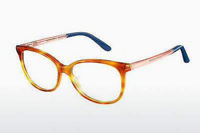 Lunettes design Carrera CA6648 QKX - Orange, Brunes, Havanna