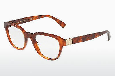 Lunettes design Dolce & Gabbana DG3277 3144 - Orange, Brunes, Havanna