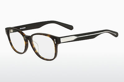 Lunettes design Dragon DR137 MAX 226 - Brunes, Havanna