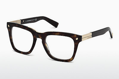 Lunettes design Dsquared DQ5191 052 - Brunes, Dark, Havana