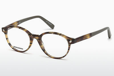 Designerbrillen Dsquared DQ5227 053 - Havanna, Yellow, Blond, Brown