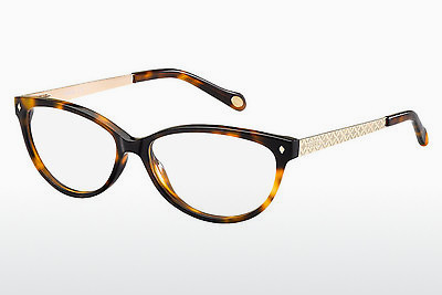 Lunettes design Fossil FOS 6007 KPD - Havanna, Or
