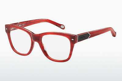 Lunettes design Fossil FOS 6075 YAB - Orange