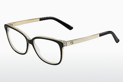 Lunettes design Gucci GG 3701 4WH - Noires, Blanches, Or