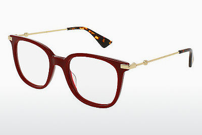 Lunettes design Gucci GG0110O 006 - Rouges