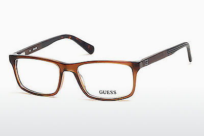 Lunettes design Guess GU1878 048 - Brunes, Dark, Shiny