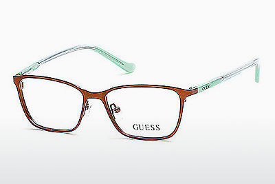 Lunettes design Guess GU9154 046 - Brunes, Bright, Matt