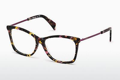 Lunettes design Just Cavalli JC0705 055 - Havanna, Brunes