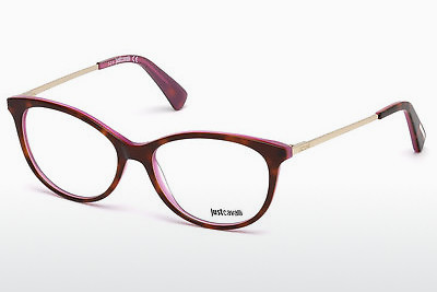 Lunettes design Just Cavalli JC0755 A56 - Brunes, Havanna