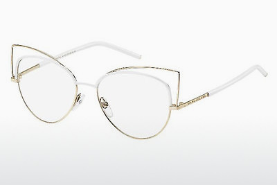 Lunettes design Marc Jacobs MARC 12 U05 - Or, Blanches