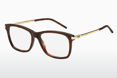 Lunettes design Marc Jacobs MARC 140 QUM - Or, Brunes, Havanna