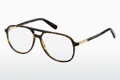 Lunettes design Marc Jacobs MJ 549 ANT - Or, Brunes, Havanna