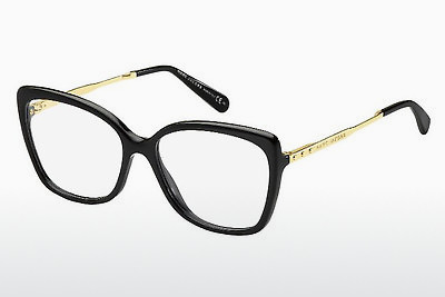 Lunettes design Marc Jacobs MJ 615 ANW - Noires, Or