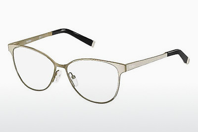 Lunettes design Max Mara MM 1255 MH7 - Sand, Blanches