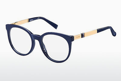 Lunettes design Max Mara MM 1286 YK3 - Bleues, Or