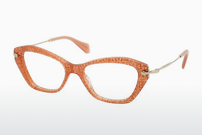 Lunettes design Miu Miu MU 04LV KA41O1 - Orange, Rose