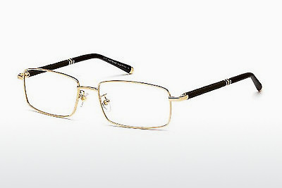 Lunettes design Mont Blanc MB0396 028 - Or