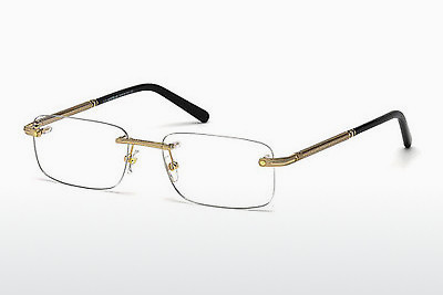 Lunettes design Mont Blanc MB0538 028 - Or