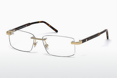 Lunettes design Mont Blanc MB0580 028 - Or