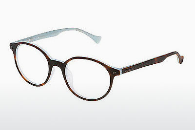 Lunettes design Police REEF 6 (VPL058 AM6M) - Brunes, Havanna
