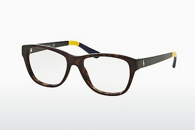 Lunettes design Polo PH2148 5574 - Brunes, Havanna