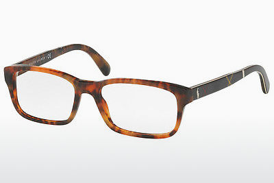 Lunettes design Polo PH2163 5017 - Brunes, Havanna