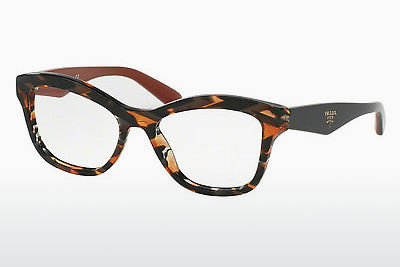 Lunettes design Prada PR 29RV VAN1O1 - Grises, Orange
