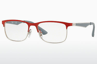Lunettes design Ray-Ban Junior RY1052 4059 - Argent, Rouges