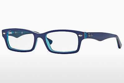 Lunettes design Ray-Ban Junior RY1530 3587 - Bleues, Transparentes