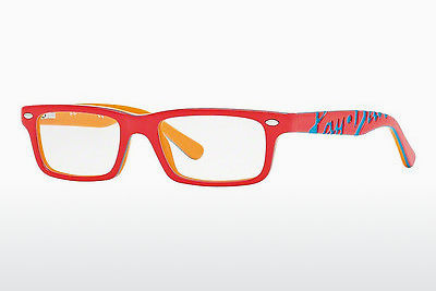Lunettes design Ray-Ban Junior RY1535 3599 - Rouges, Coral