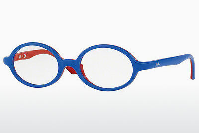 Lunettes design Ray-Ban Junior RY1545 3703 - Bleues