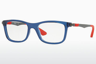 Lunettes design Ray-Ban Junior RY1549 3734 - Transparentes, Bleues